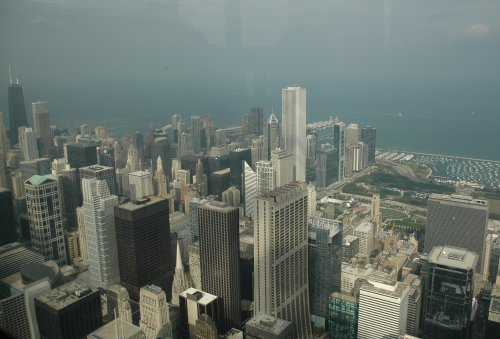 Lots of building of all shapes and sizes. Chicago (2007)