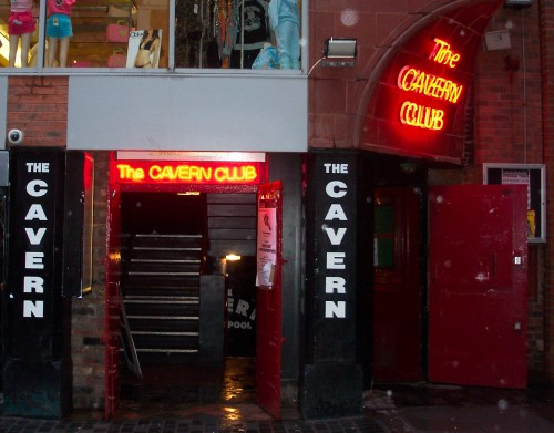The Cavern Club where The Beatles performed some early gigs, Liverpool (2006)