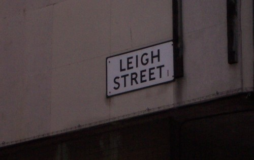 A well named street, Liverpool (2006)