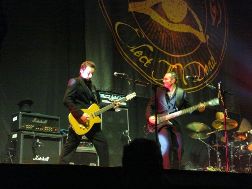 The guitarists were good… very impressed. Nottingham (2007)