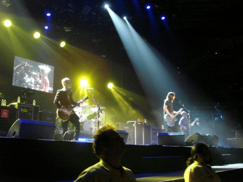 Foo Fighters under the pretty lights. Nottingham (2007)