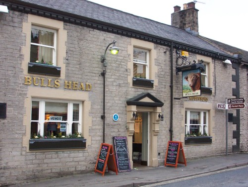 A nice pub where I had a lovely Hot Chocolate drink, Peak District (2006)