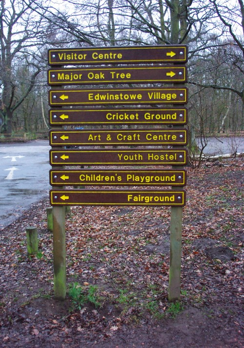 Look at all the wonderful and exciting things you can do, who needs DisneyWorld®, Sherwood Forest (2006)