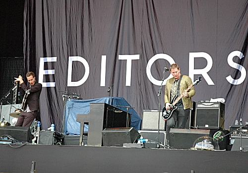 Editors playing one of their hit songs… I don't know which though. Manchester (2008)