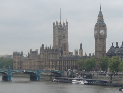 The Houses of Parliament, Guy Fawkes should have tried harder, London (2006)