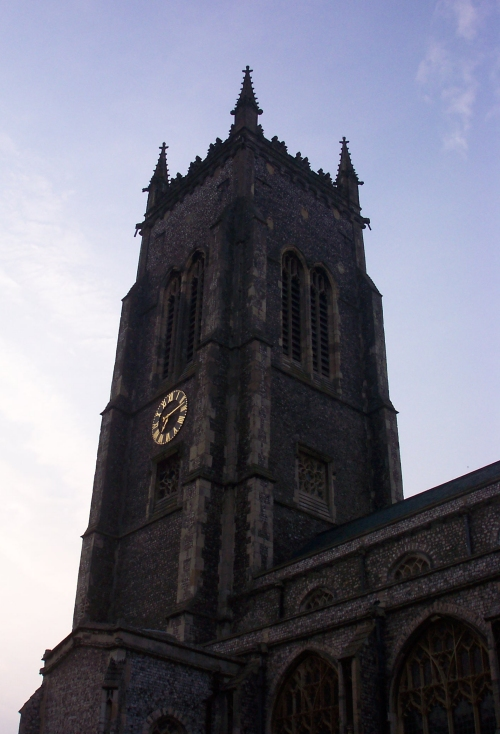A beautiful church, Cromer (2006)