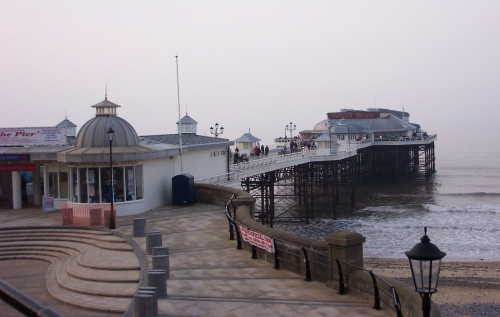 The famous pier, that has been burnt down a few times, Cromer (2006)