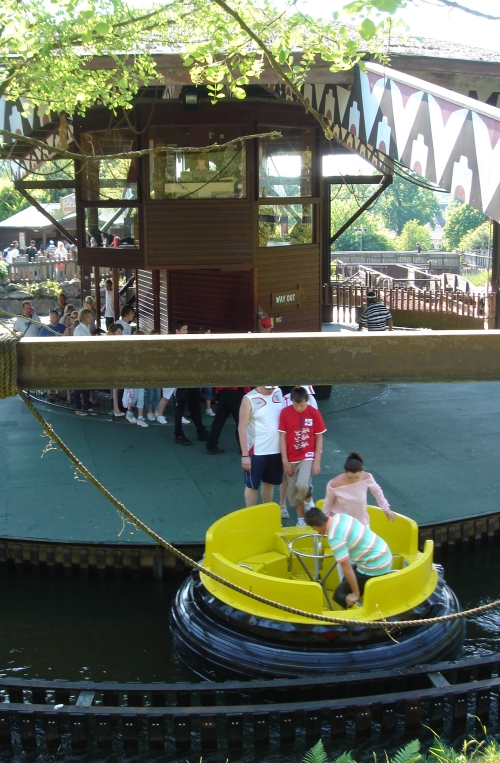 A water based ride, nice on a hot day, Alton Towers (2006)