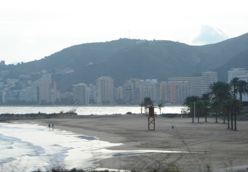 A beach in Callera, it was off-season, so it was a bit quiet, Spain (2006)