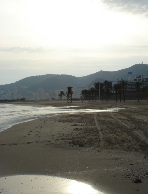 No one about, would be a nice beach in the summer, Spain (2006)