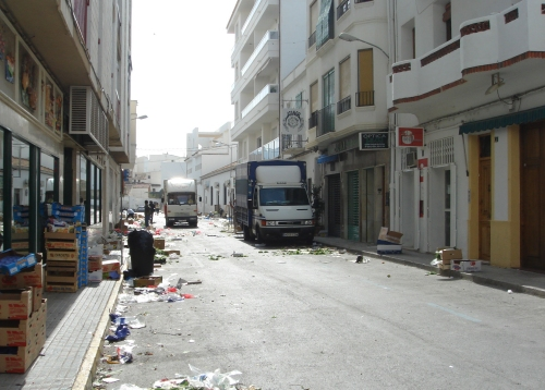 The clean streets of Altea, Spain (2006)