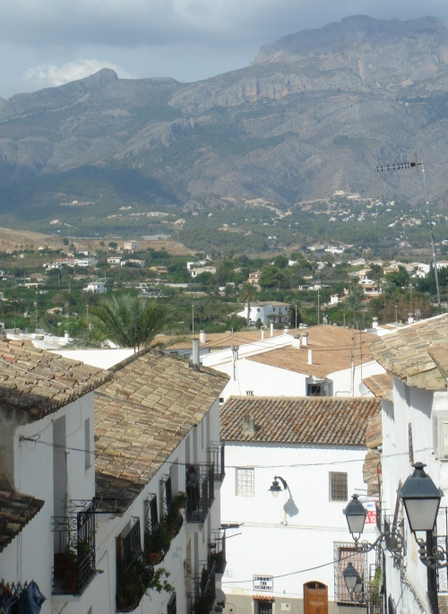 A nice scenic view of Altea, Spain (2006)