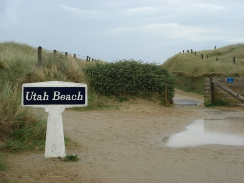 The entrance to Utah beach, France (2006)