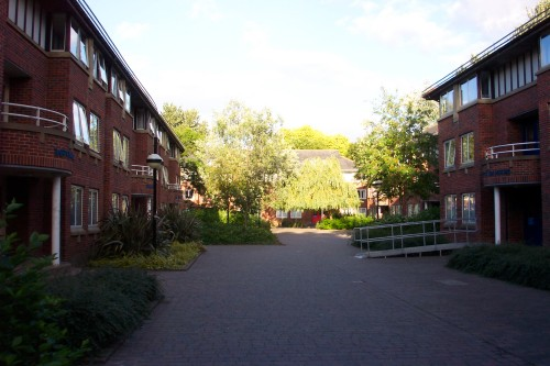 Taylor Court at Hull University where I lived for a year, Hull (2005)