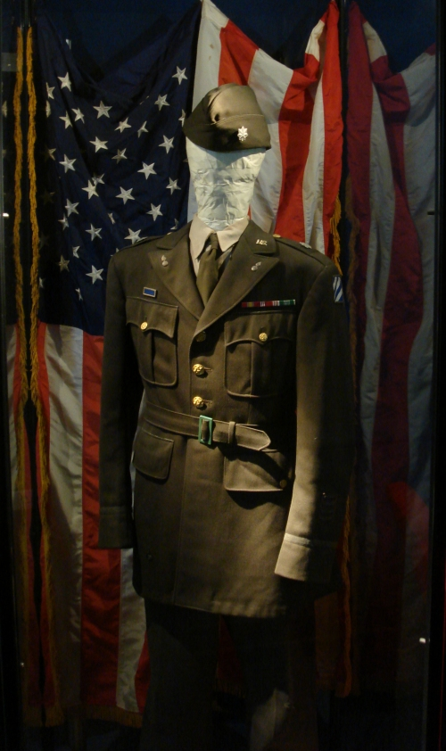 An authentic G.I. uniform, France (2006)