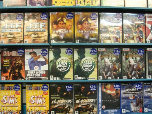 video games in 2007