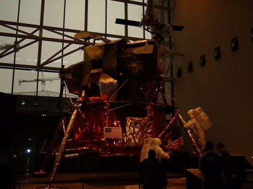 The Apollo moon lander, Air and Space Museum, Free entrance! Washington D.C. (2002)