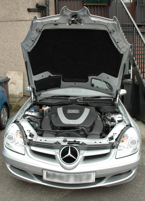 It has got a powerful engine that Mercedes-Benz has, Sutton-In-Ashfield (2007)