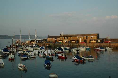 The harbour at Lyme-Regis, it had the strong smell of Shrimps, yum-yum. Dorset (2007)