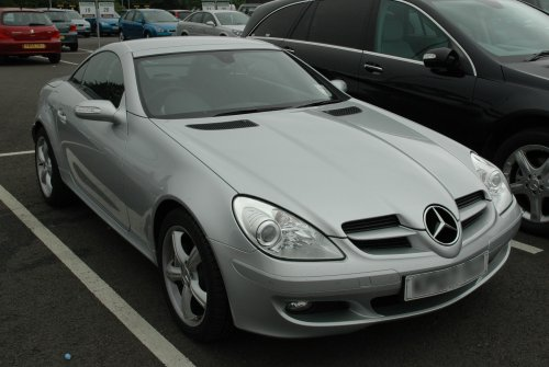 The car dropped off at the hire company, it was a great car! Nottinghamshire (2007)