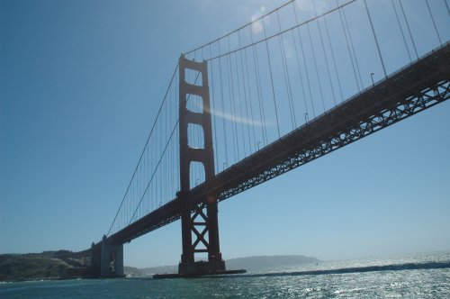 A nice calm boat trip on the bay. San Francisco (2007)