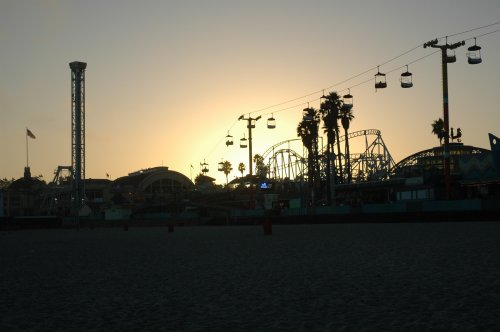 The sun goes down on this lovely beach town. Better look out for vampires. Santa Cruz (2007)
