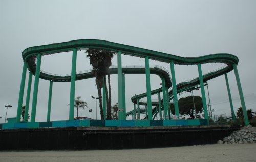 A water ride at the end of the boardwalk. Santa Cruz (2007)
