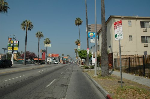 The Comfort Inn we stayed in on the famous Sunset Strip. Los Angeles (2007)