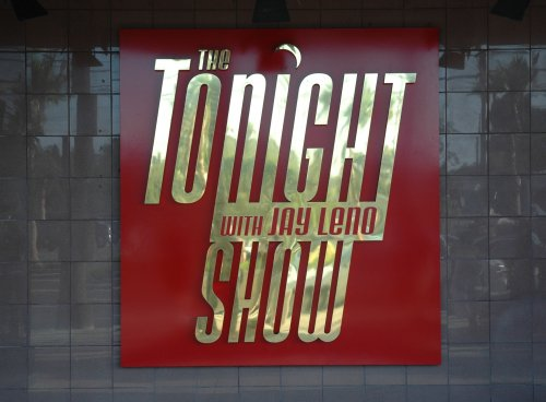 The Tonight Show with Jay Leno, we were lucky enough to get tickets to the show. The guests on the show were Drew Carey, some movie reviewer and singer Colbie Caillat sang her hit song