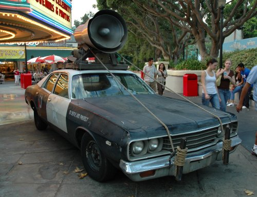 The police car used in the movie The Blues Brothers. Los Angeles (2007)