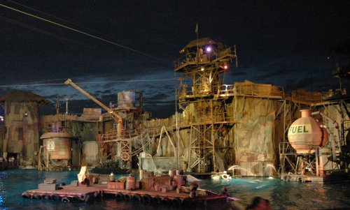 The Waterworld show begins! Los Angeles (2007)