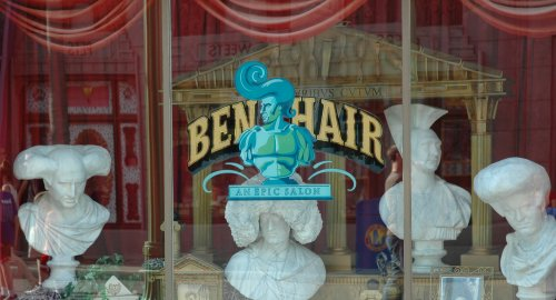 A barbers Shoppe in Disney's