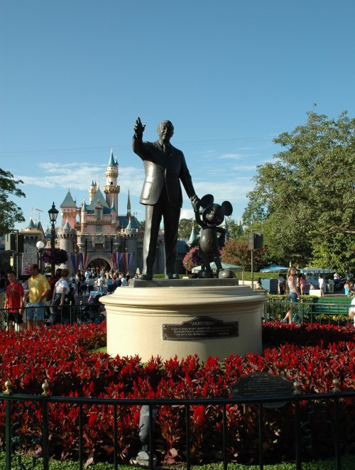 Walt and his most famous money-making creation Mickey. Los Angeles (2007)
