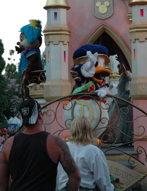There's Donald Duck… probably my favourite Disney character. Los Angeles (2007)