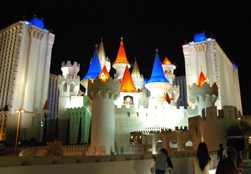 Looks like a fairytale palace. Las Vegas (2007)