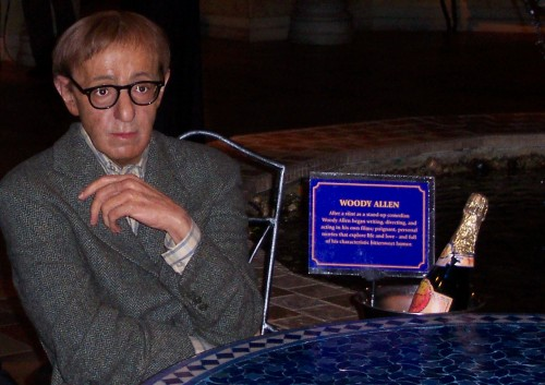 Famous film maker Woody Allen at Madam Tussaud's, New York (2006)