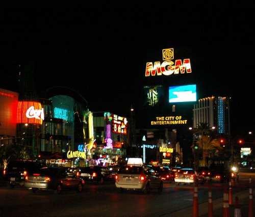Lots and lots of pretty lights. Las Vegas (2007)