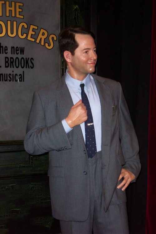 Matthew Broderick from lots of 80's movies, also in The Producers, which I saw on Broadway while I was there, New York (2006)