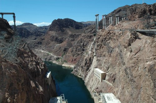Another photo of the Hoover Dam. Nevada/Arizona (2007)