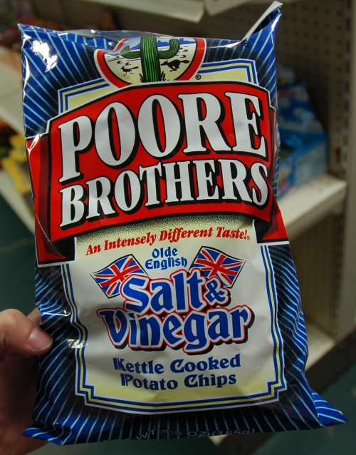 You find a little piece of Britain in the strangest places. You'd have to be poore to consider eating these. Arizona (2007)