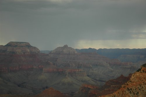 The Grand Canyon with some rain in the distance. We got there towards dusk as it was apparently one of the best times to visit… they were right! Arizona (2007)