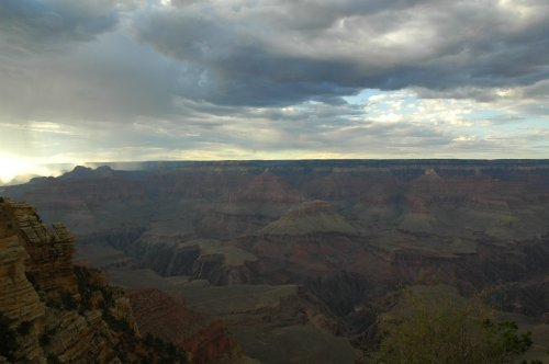 This is the Southern rim of the Grand Canyon. Arizona (2007)