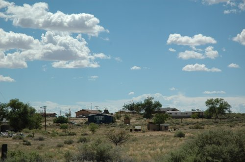 Trailers and Houses… and nice views. Arizona (2007)