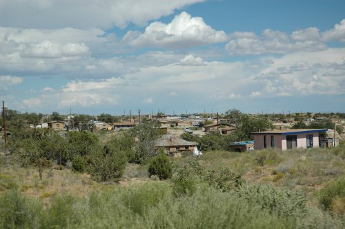 Quite a sizable town in the desert… mostly Native American Indians live in this area. Arizona (2007)