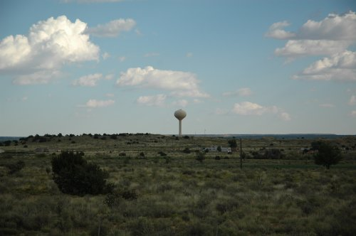 Not sure what it is, but most small towns had one… usually with the name of the town on it. New Mexico (2007)