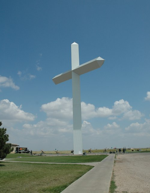 Bye bye big Cross… don't think we'll see such as big cross in a while. Texas (2007)