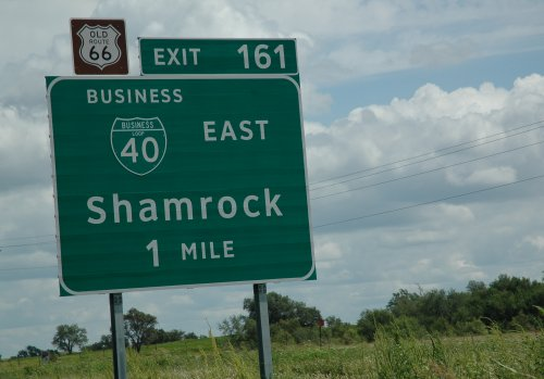 Looks like a little Irish community has made it's mark here. Texas (2007)