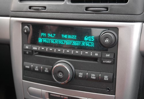 Our radio, it kept us amused for the whole journey. There were lots of God-based radio stations. Oklahoma (2007)